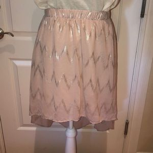 High - low skirt perfect for a night out !